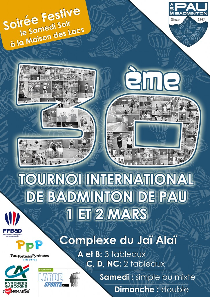 30e tournoi international de Pau