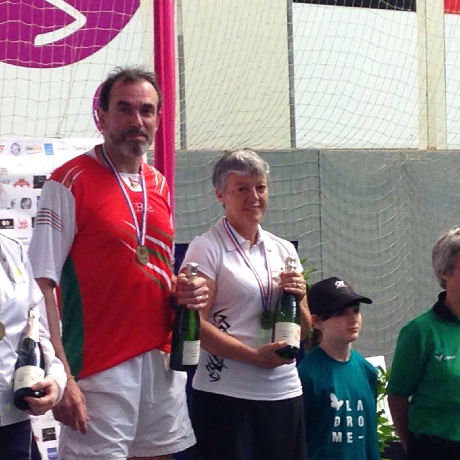 Médaillée de Bronze au championnat de France