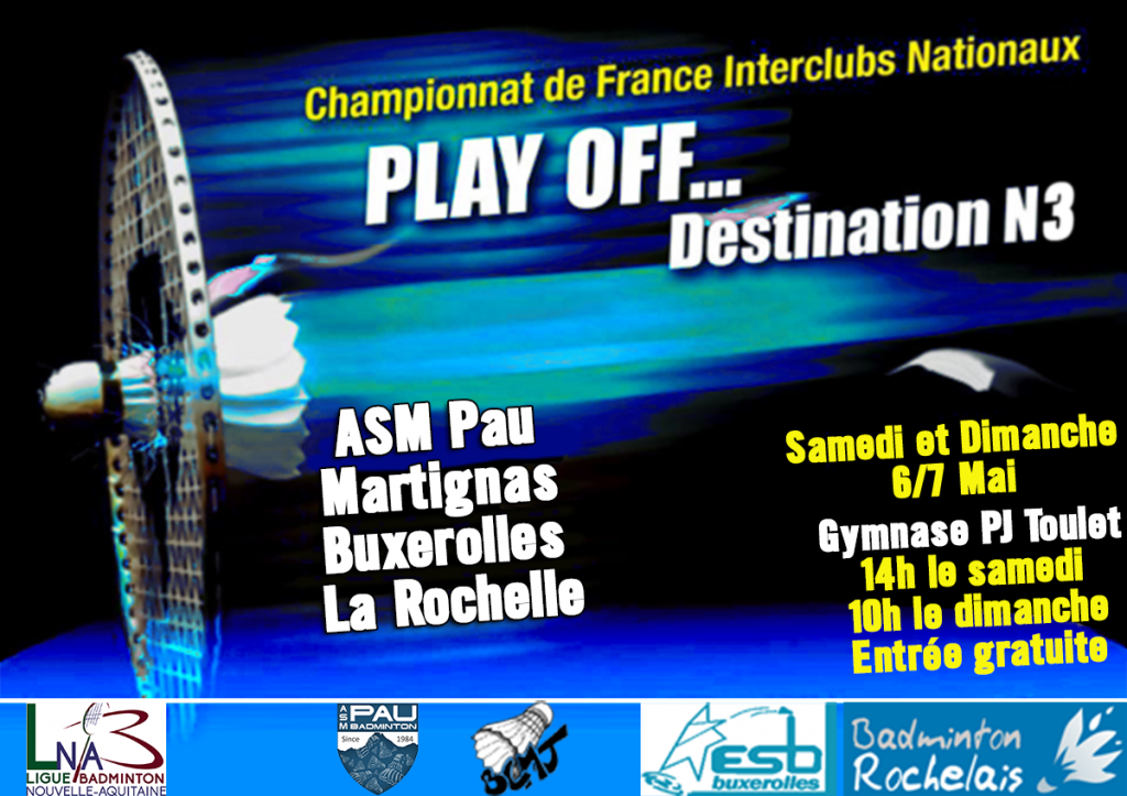 Affiche play off