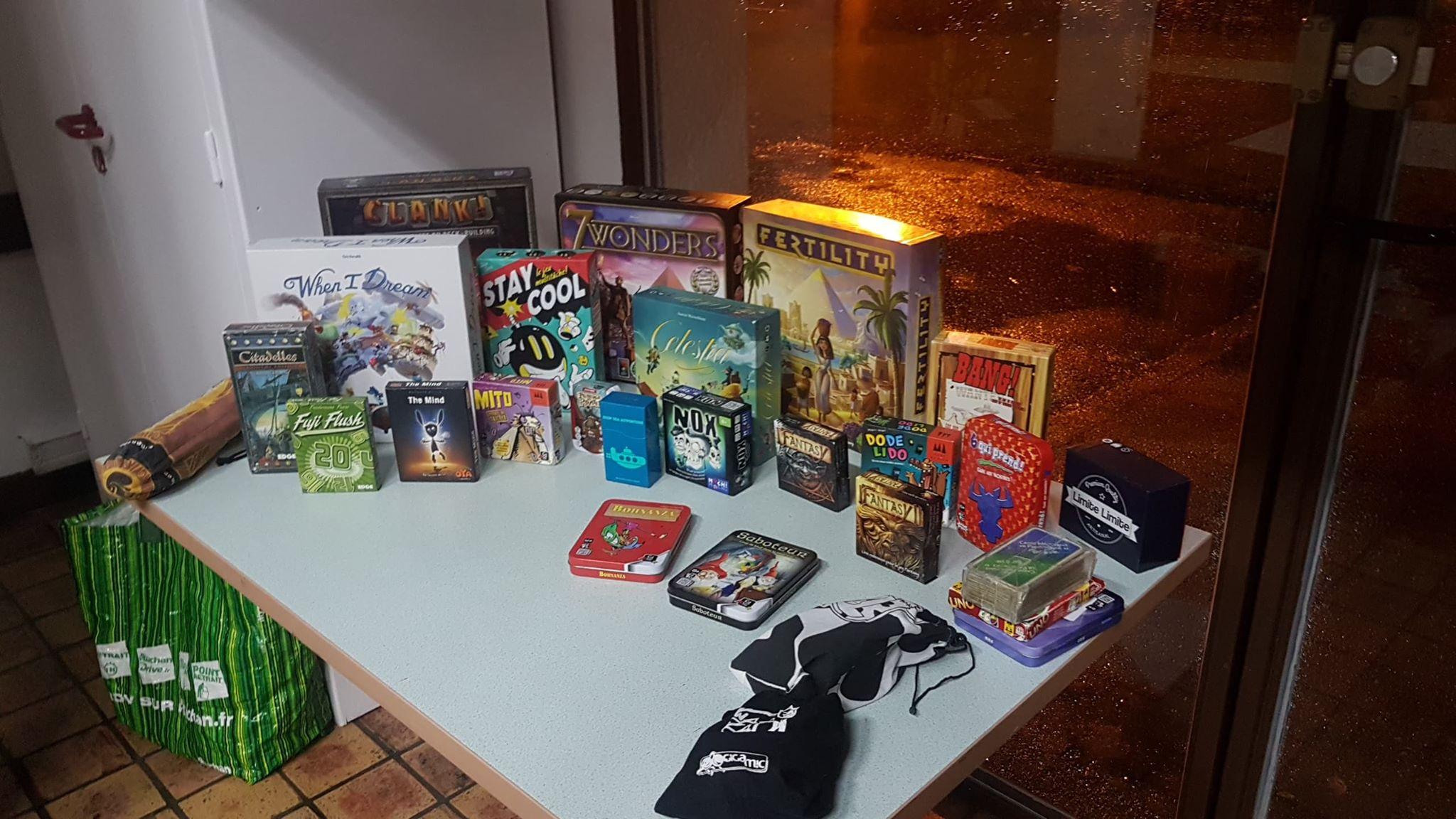 [Extra bad] Soirée jeux de société – 13/12/2019