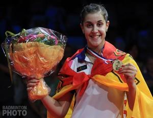 VAMOS ! Carolina MARIN championne du monde de badminton !