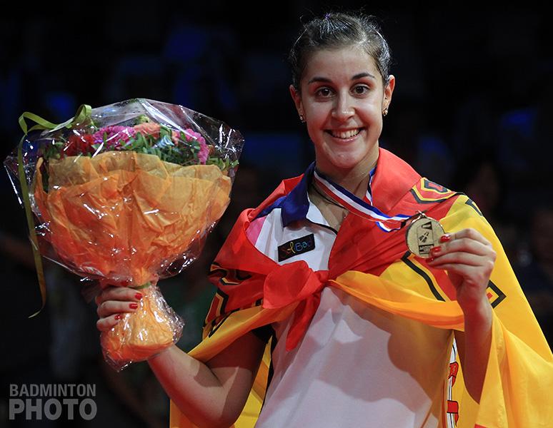 You are currently viewing VAMOS ! Carolina MARIN championne du monde de badminton !