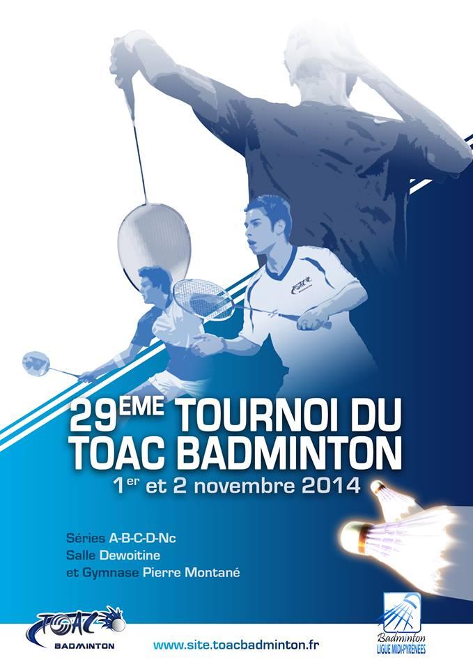 Résultats de l'ASM Pau Badminton au TOAC