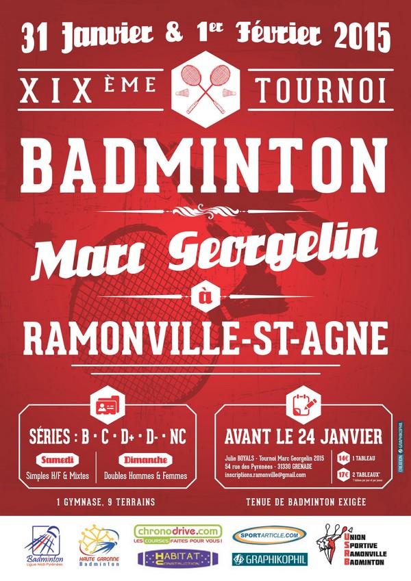 Tournoi de Ramonville le 31/01/2015
