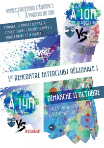 Read more about the article Interclubs Saison 2015-2016
