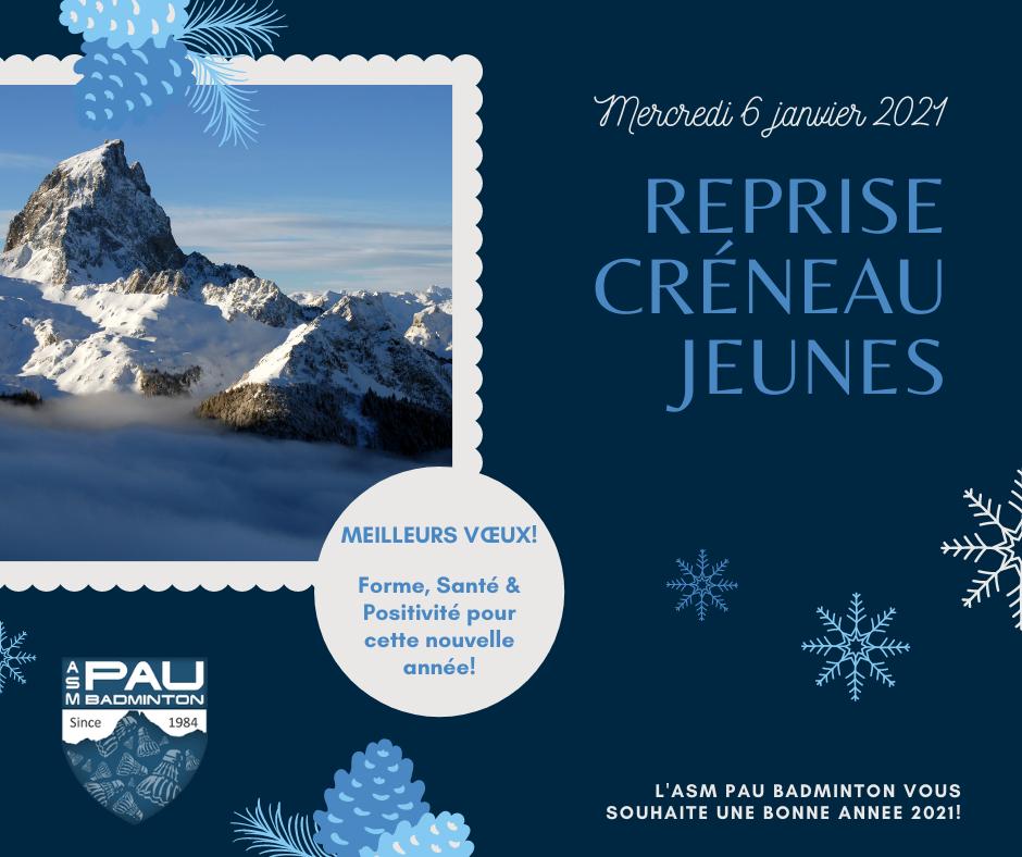 Read more about the article Vœux & reprise des jeunes !